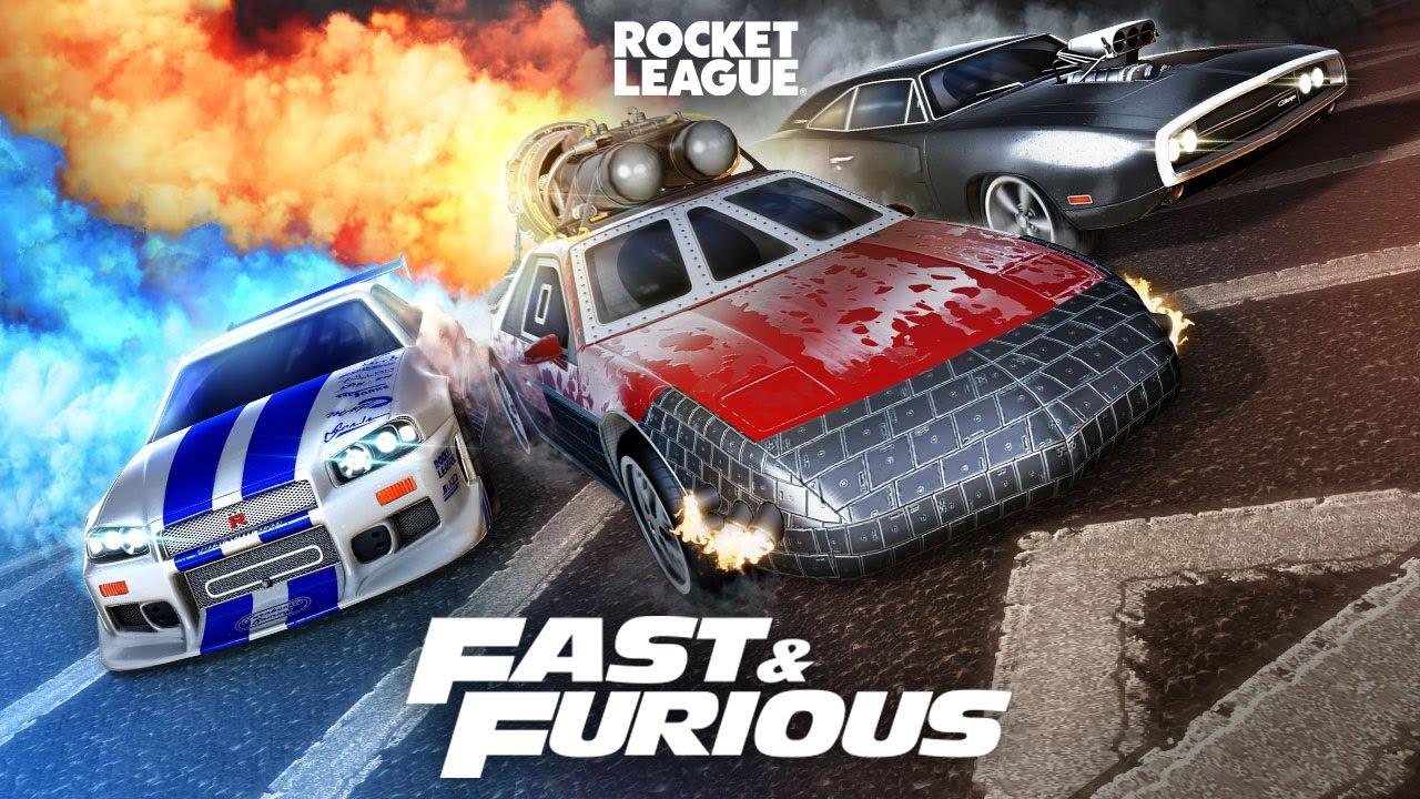 Rocket League - Fast & Furious