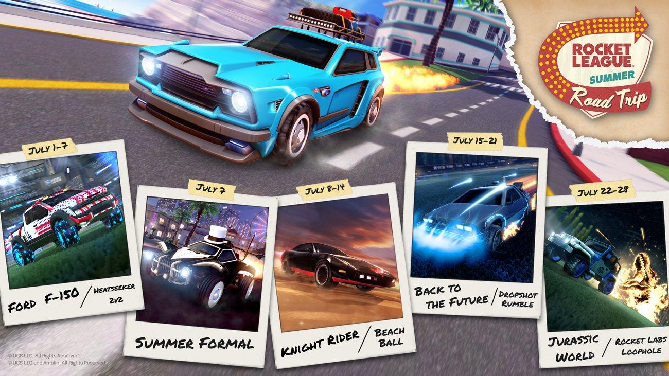 Rocket League - Summer Road Trip