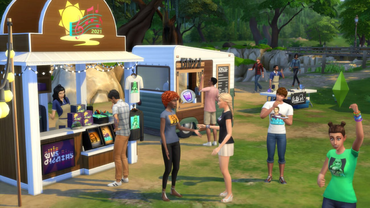 Die Sims 4 - Sims Sessions