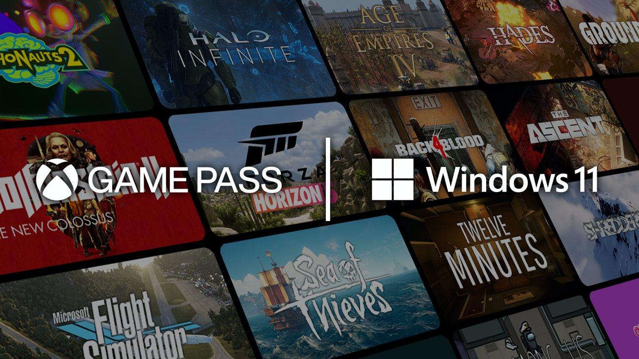 Windows 11 - Xbox Game Pass