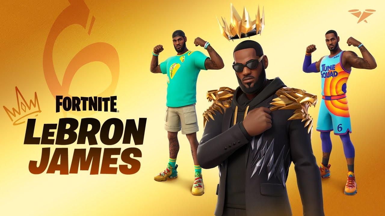 Fortnite: Lebron James