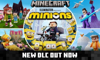Minions x Minecraft DLC