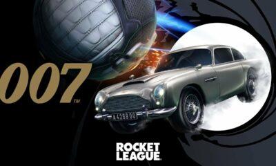 Rocket League: James Bond 007