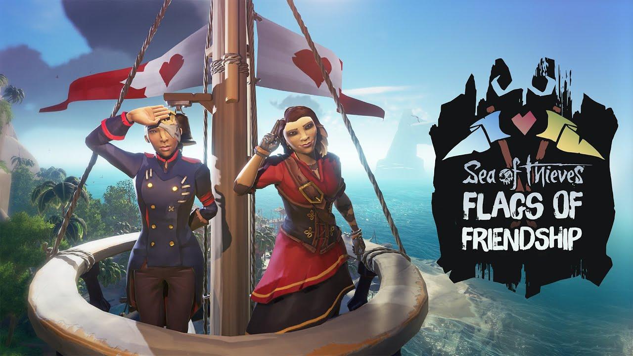 Sea of Thieves: Flaggen der Freundschaft