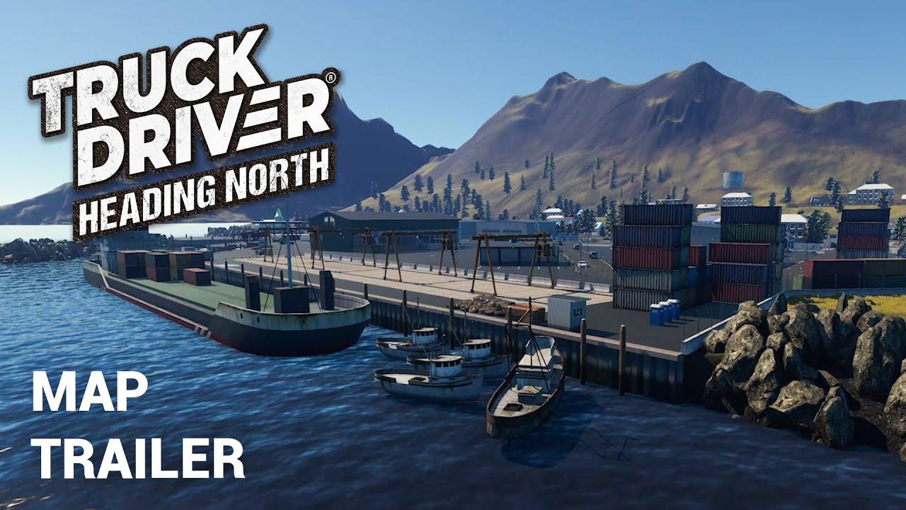 """Truck Driver: Karten DLC """"Heading North"""""""