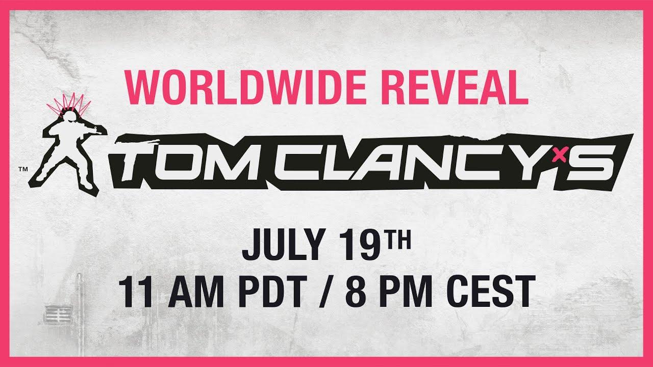 Weltweite Enthüllung eines neues Tom Clancy-Spiel