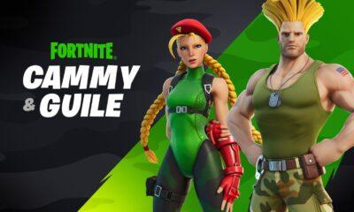 Fortnite: Cammy und Guile aus Street Fighter