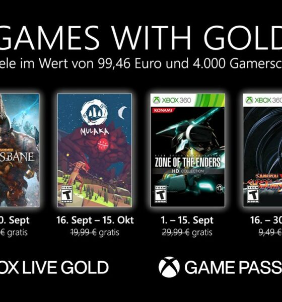 Games with Gold im September 2021