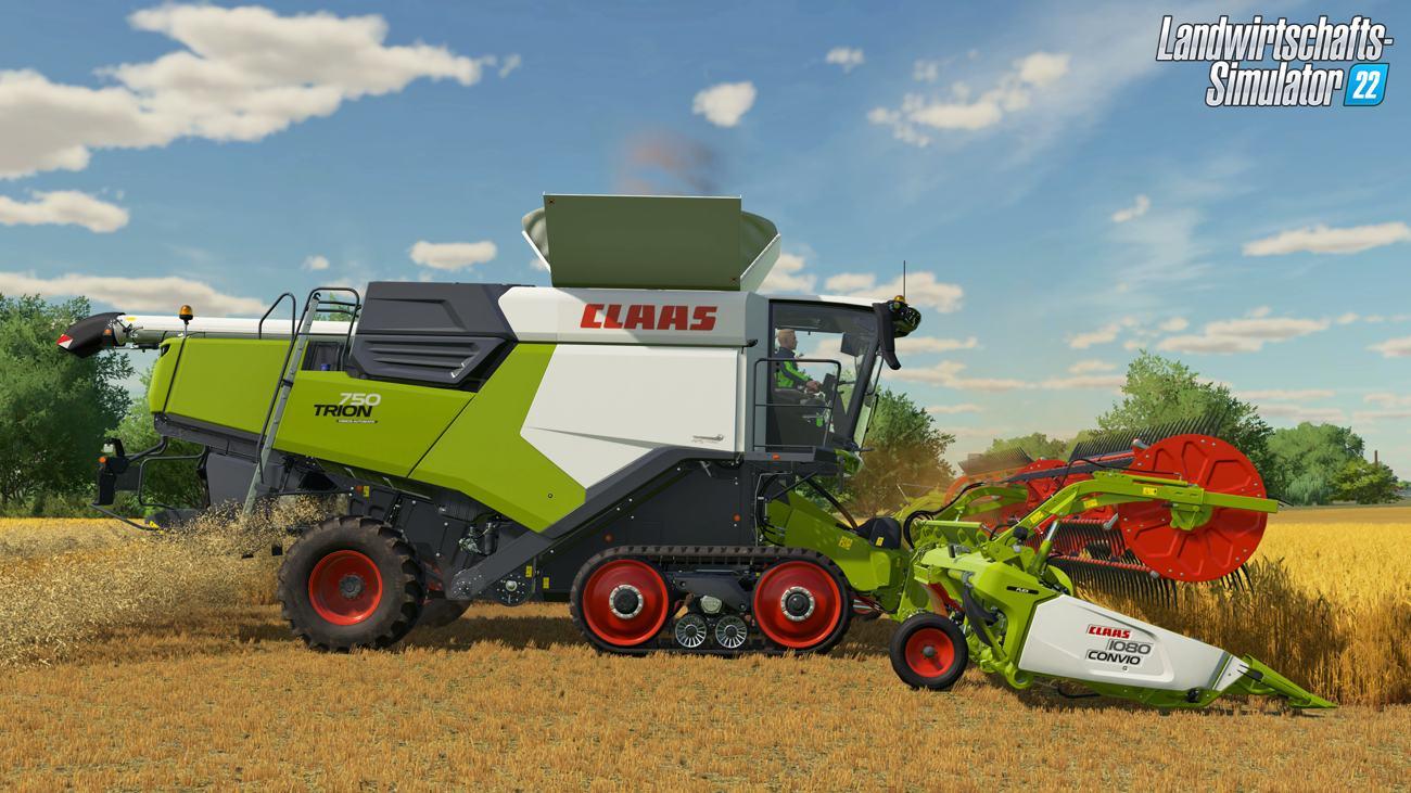 Landwirtschafts-Simulator 22 - CLAAS TRION 750