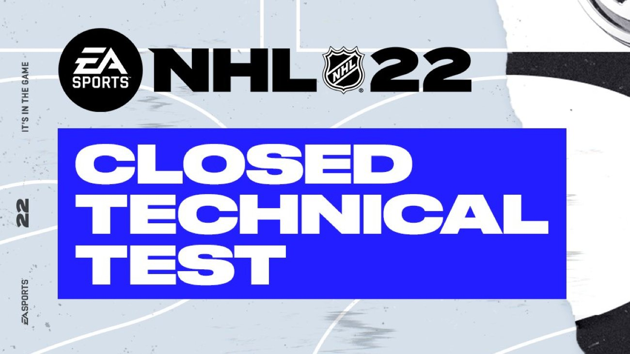 NHL 22: Closed Technical Test