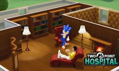 Two Point Hospital - Sonic-Crossover