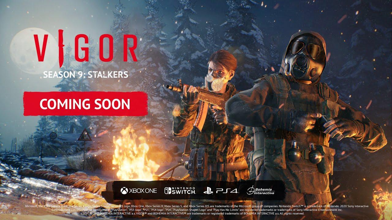 Vigor - Season 9: Stalkers Teaser Trailer