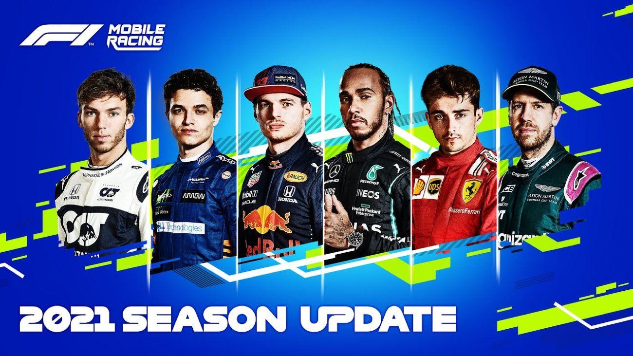 Saison-Update 2021 für F1 Mobile Racing