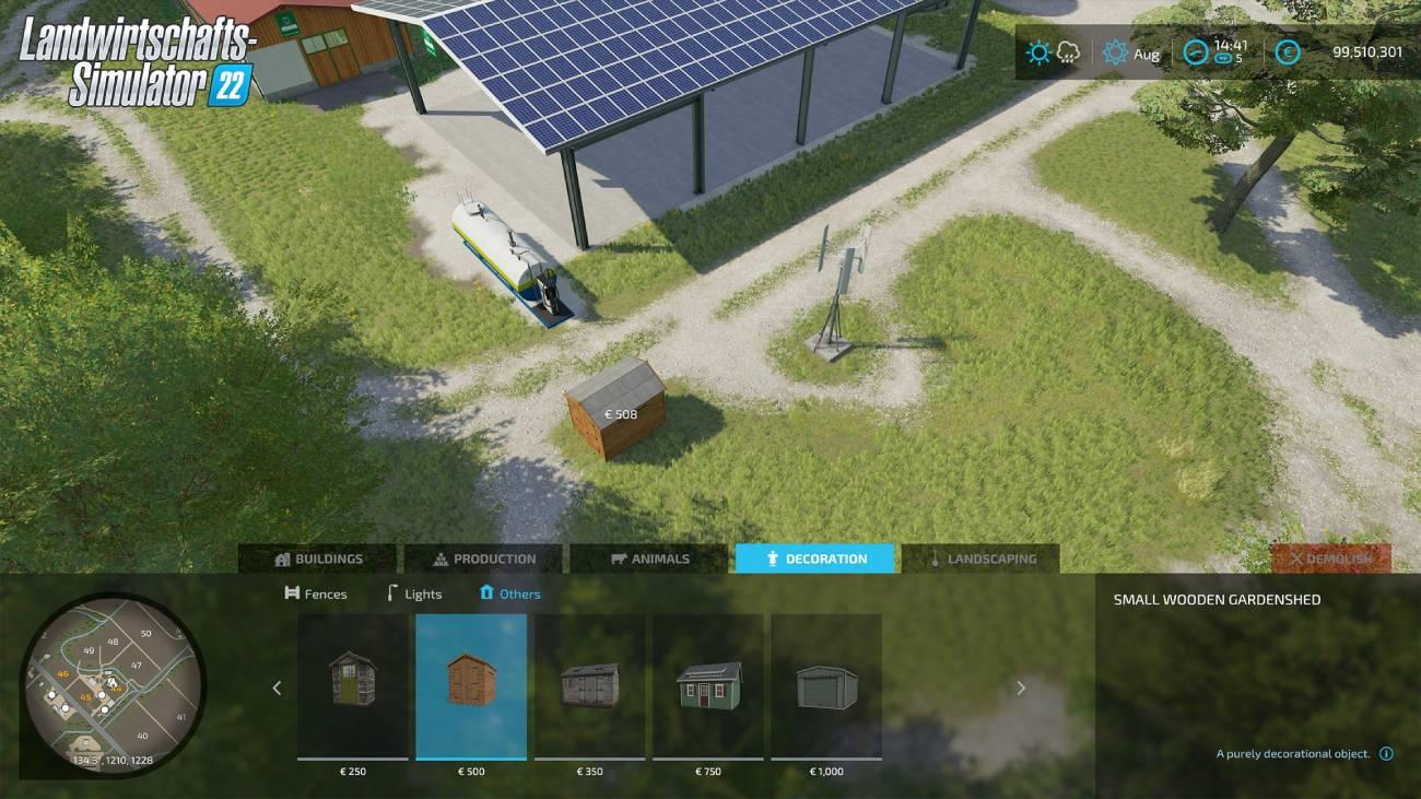 Landwirtschafts-Simulator 22: Baumodus