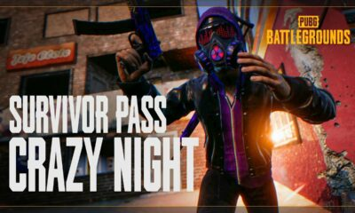 "PUBG: Battlegrounds: Survivor Pass ""Crazy Night"""