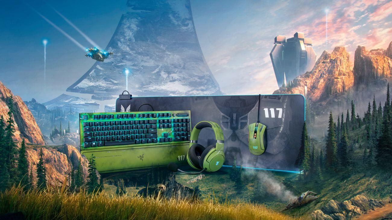 Halo Infinite-Peripherie von Razer