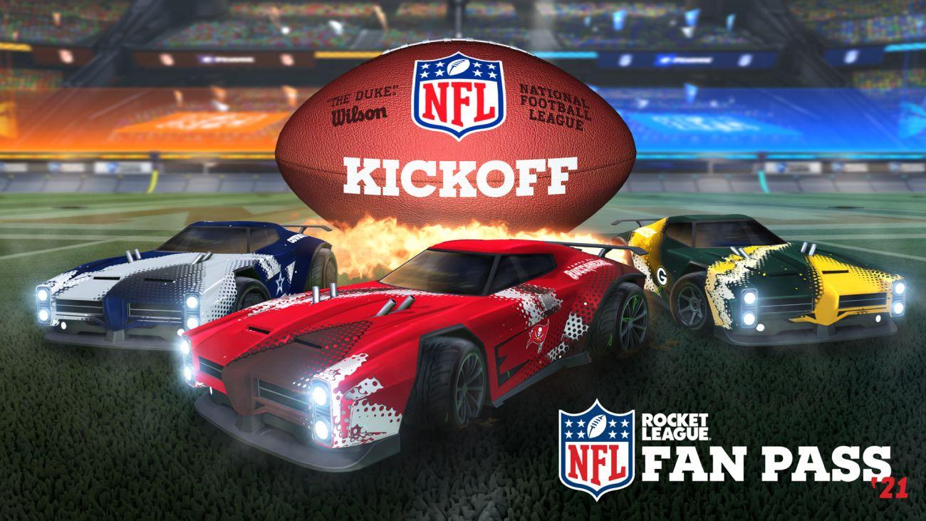 Rocket League: NFL Fan Pass 2021