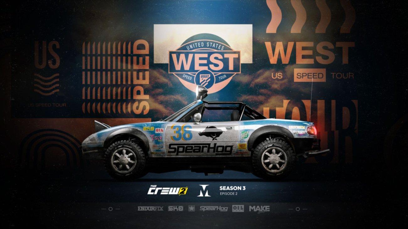 The Crew 2 Season 3 Episode 2: US Speed Tour West