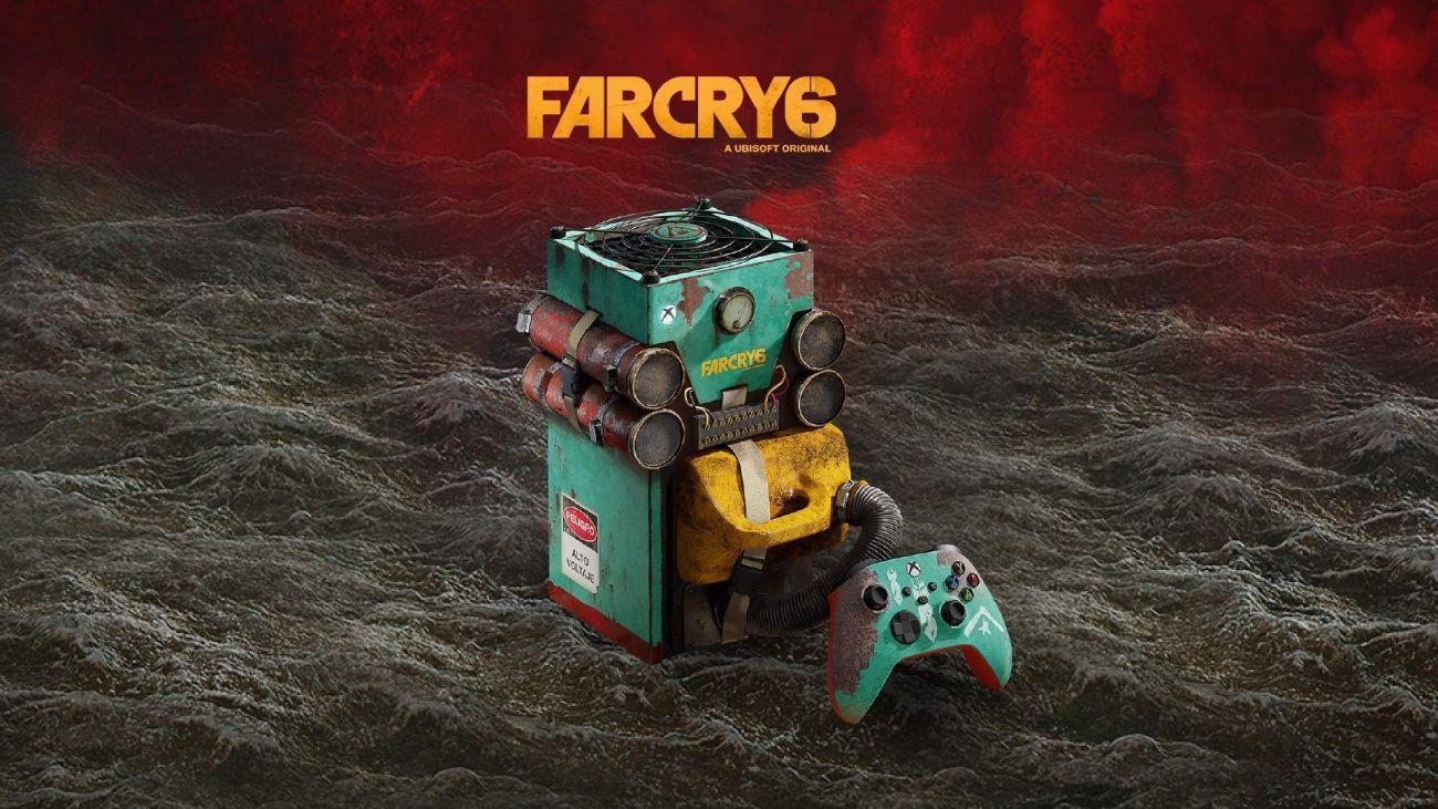Xbox Series X im abgefahrenen Far Cry 6-Design