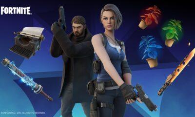 Fortnite - S.T.A.R.S.-Eliteeinheit Chris Redfield und Jill Valentine