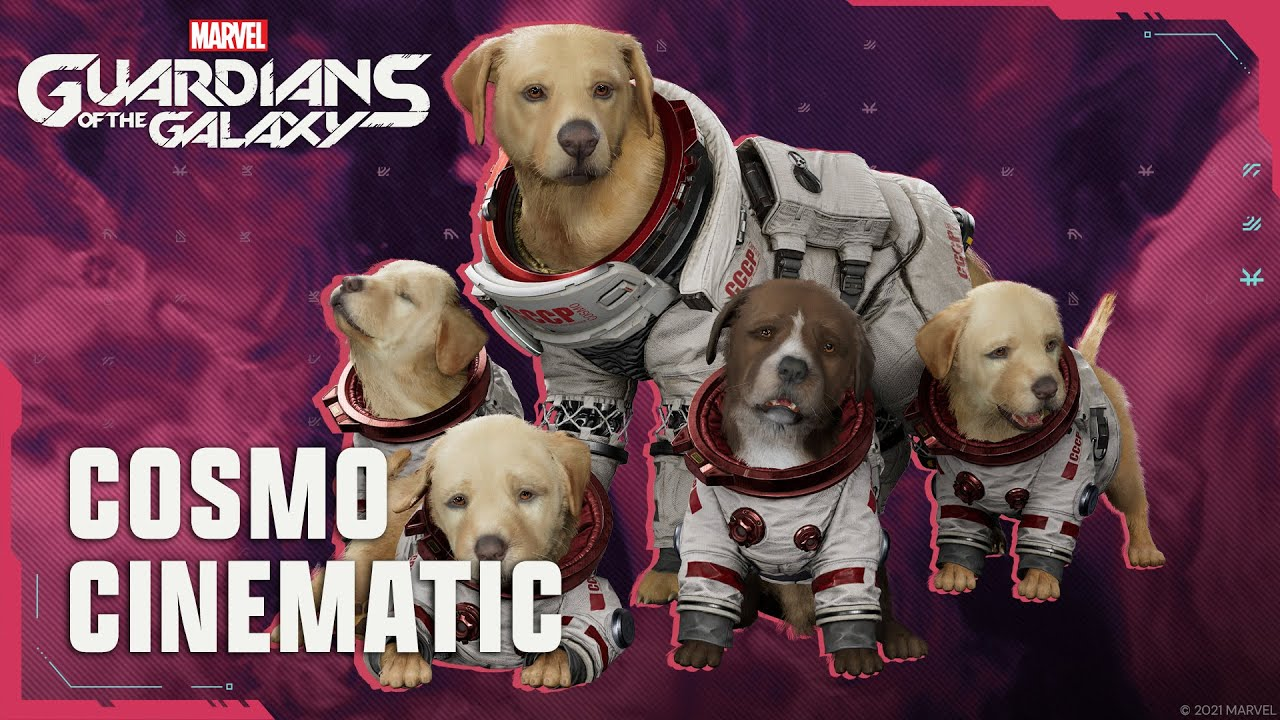Marvel's Guardians of the Galaxy - Cosmo