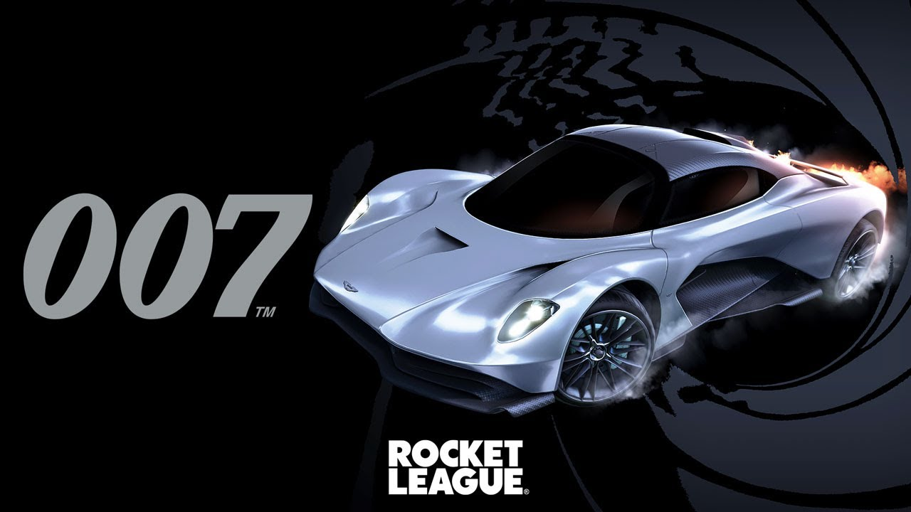 Rocket League - 007's Aston Martin Valhalla