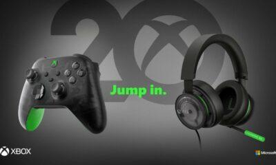 Neuer Controller und Headset zum 20-jährigen Jubiläum von Xbox angekündigt